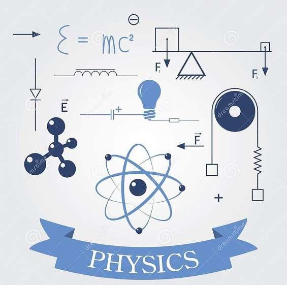 Clases personalizadas de fisica a domicilio